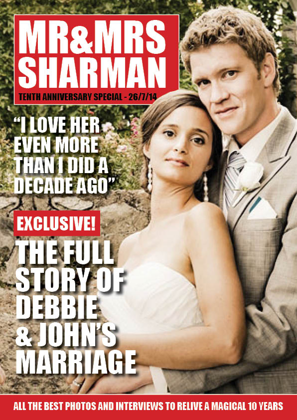 Personalised Wedding Anniversary Magazines | Special Gifts